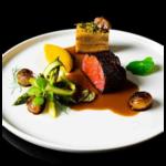 Food presentation idea icon