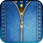 Jeans Zipper Lock Screen icon