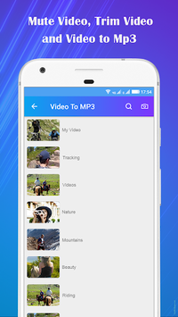 Video to Mp3 : Mute Video /Trim Video/Cut Video pc screenshot 2