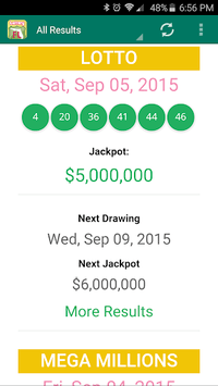 Florida Lottery Results pc screenshot 1