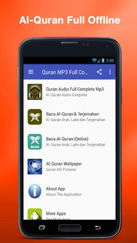 Al Quran MP3 (Full Offline) pc screenshot 1