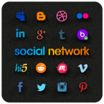 Social Network All in One icon