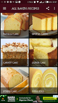 ALL BAKING RECIPES pc screenshot 2