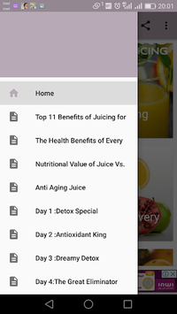 Fat burning Juice-30 Days Program PC screenshot 1