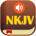 NKJV Audio Bible Free App. icon