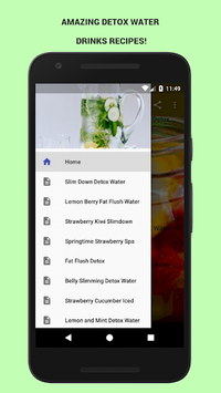 30+ Detox Water Drinks! pc screenshot 1