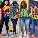 Jeans & Ankara Blouse Styles icon