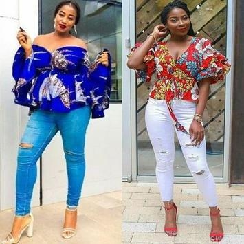 Jeans & Ankara Blouse Styles pc screenshot 2