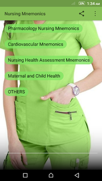 Nursing Mnemonics pc screenshot 1