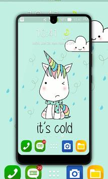 Kawaii Unicorn Wallpaper pc screenshot 1