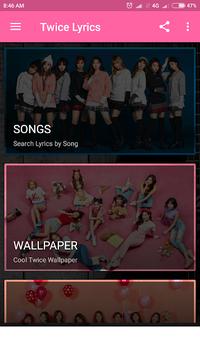 TWICE Lyrics (Offline) pc screenshot 2