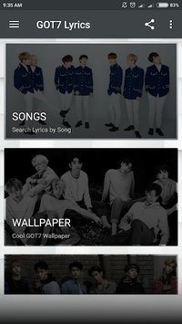 GOT7 Lyrics (Offline) pc screenshot 2