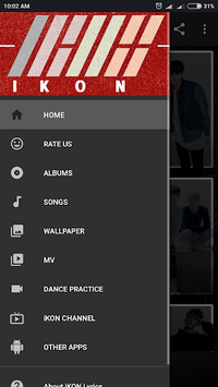 iKON Lyrics (Offline) pc screenshot 1