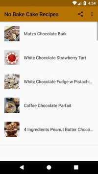 No Bake Cake Recipes pc screenshot 1