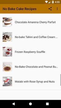 No Bake Cake Recipes pc screenshot 2