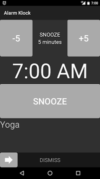 Alarm Klock pc screenshot 1