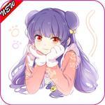 Anime Girl Wallpaper 2017 icon