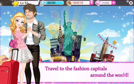 Star Girl - Fashion, Makeup & Dress Up pc screenshot 1