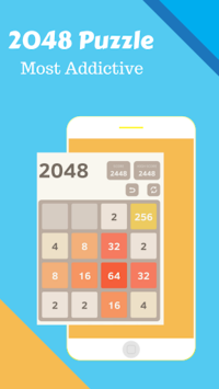 2048 classic puzzle +5 games pc screenshot 1