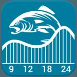Fishing & Hunting Solunar Time for pc logo