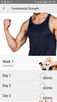Anytime Workouts pc screenshot 1