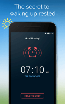 Good Morning Alarm Clock pc screenshot 1