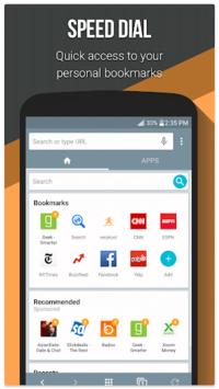 Infosonics Browser pc screenshot 1