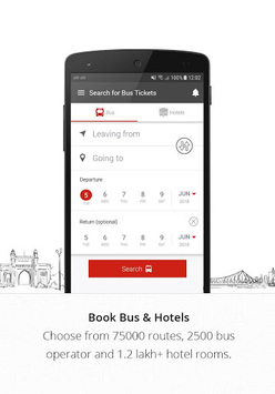 AbhiBus - Online Bus Ticket Booking, Hotel Booking pc screenshot 1