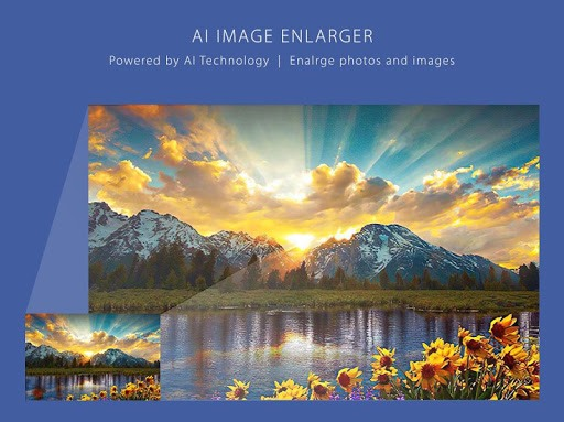 AI Image Enlarger - Best Image Upscaler - 400% PC screenshot 1