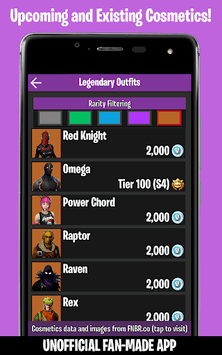 Companion for Fortnite (Stats, Map, Shop, Weapons) pc screenshot 2