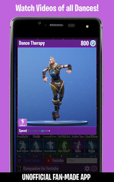 Dances from Fortnite (Emotes, Skins, Daily Shop) pc screenshot 2