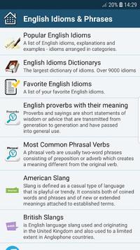All English Idioms & Phrases pc screenshot 1