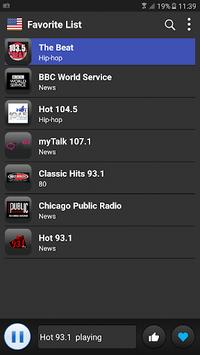 USA radio Fm free 2018 pc screenshot 1