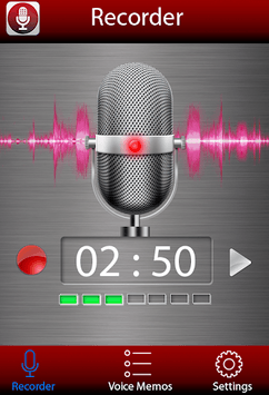Voice recorder pc screenshot 1