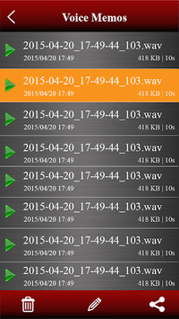 Voice recorder pc screenshot 2