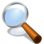 Magnifier + Flashlight icon
