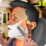Barber Shop Mustache and Beard Styles Shaving Game icon