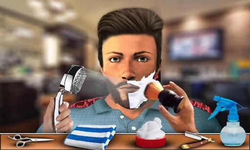 Barber Shop Mustache and Beard Styles Shaving Game pc screenshot 1