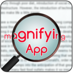 Magnifying Glass with Page Magnifier & Flashlight icon