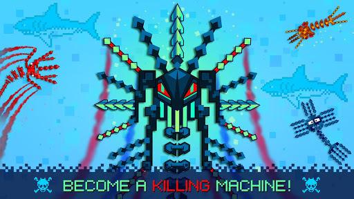 Pixel Sword Fish io pc screenshot 2