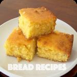 bread recipes - quick bread, banana bread recipes icon