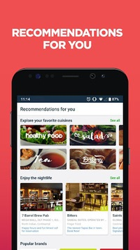 Zomato - Restaurant Finder and Food Delivery App pc screenshot 2