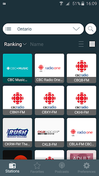 Radio Player Canada: Internet Radio Player App pc screenshot 2