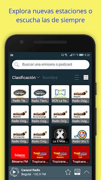 Radio Colombia: Internet Radio App + FM Radio pc screenshot 1