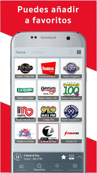 Radio Peru: FM Radio, Online Radio, Internet Radio pc screenshot 1