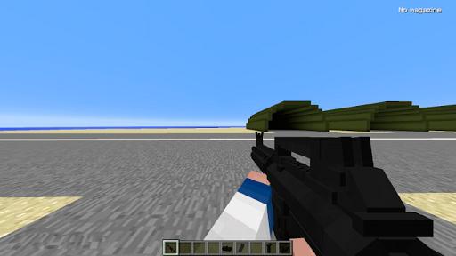 GUNS mod for Minecraft PE pc screenshot 1