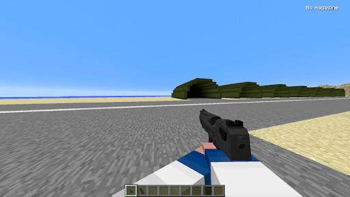 GUNS mod for Minecraft PE pc screenshot 2
