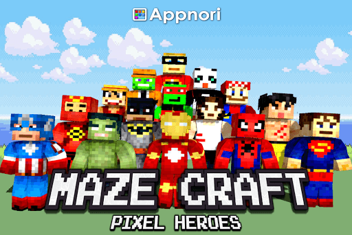 Maze Craft : Pixel Heroes pc screenshot 1