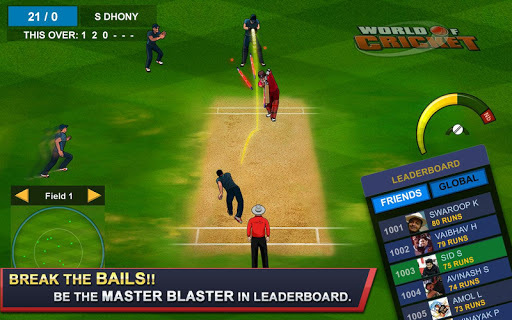 World of Cricket : Multiplayer PVP pc screenshot 2
