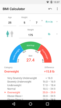 BMI Calculator pc screenshot 2